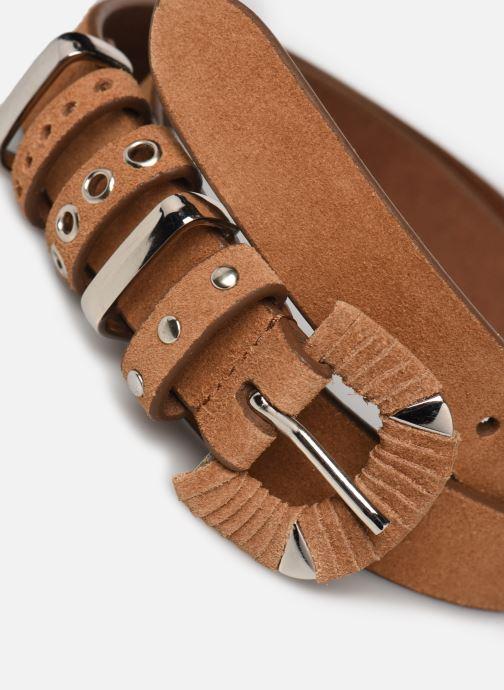Gürtel I.Code QS91084 braun schuhe getragen
