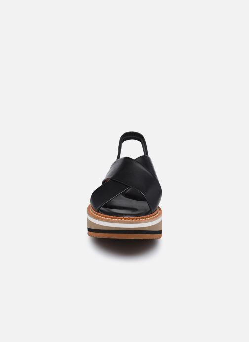 Sandalen Clergerie FREEDOM5 schwarz schuhe getragen