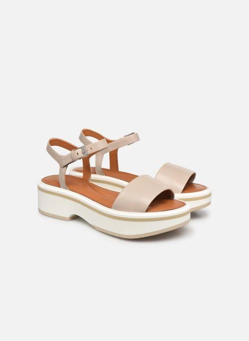 Sandales et nu-pieds Clergerie FIONA Gris vue 3/4