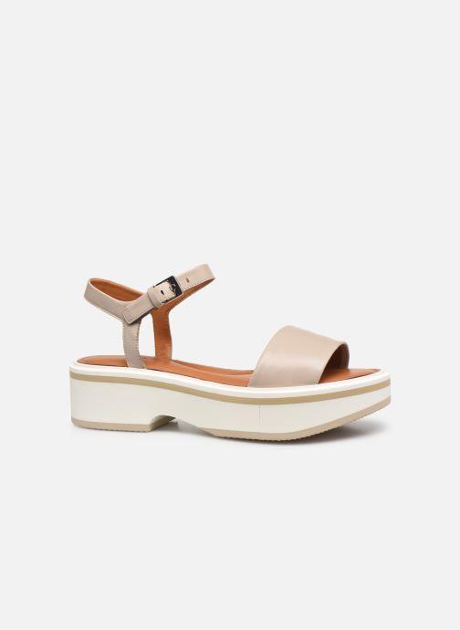 Sandales et nu-pieds Clergerie FIONA Gris vue derrière