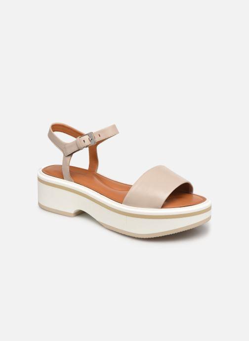 Sandales et nu-pieds Clergerie FIONA Gris vue détail/paire