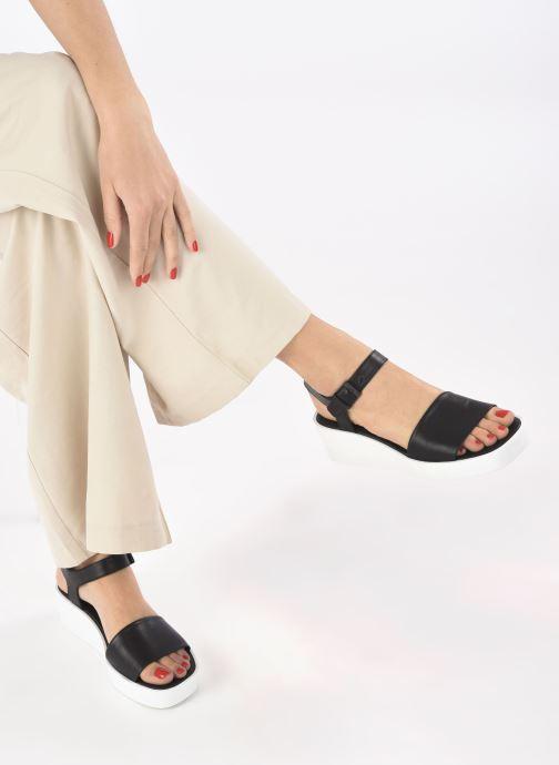 Sandali e scarpe aperte Clergerie SARA Nero immagine dal basso