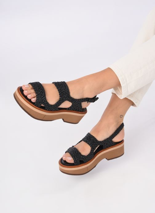 Sandali e scarpe aperte Clergerie FELIX Nero immagine dal basso