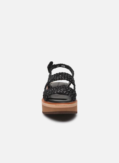 Sandali e scarpe aperte Clergerie FELIX Nero modello indossato