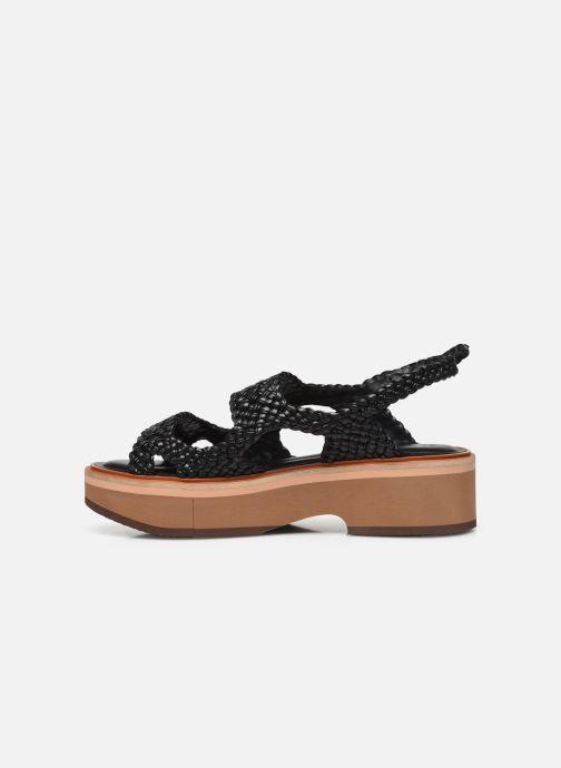 Sandali e scarpe aperte Clergerie FELIX Nero immagine frontale