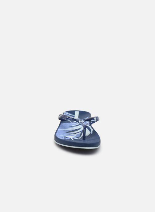 Tongs Ipanema Ipanema Anat. Nature V Fem Bleu vue portées chaussures