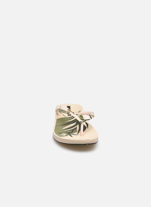 Tongs Ipanema Ipanema Anat. Nature V Fem Beige vue portées chaussures