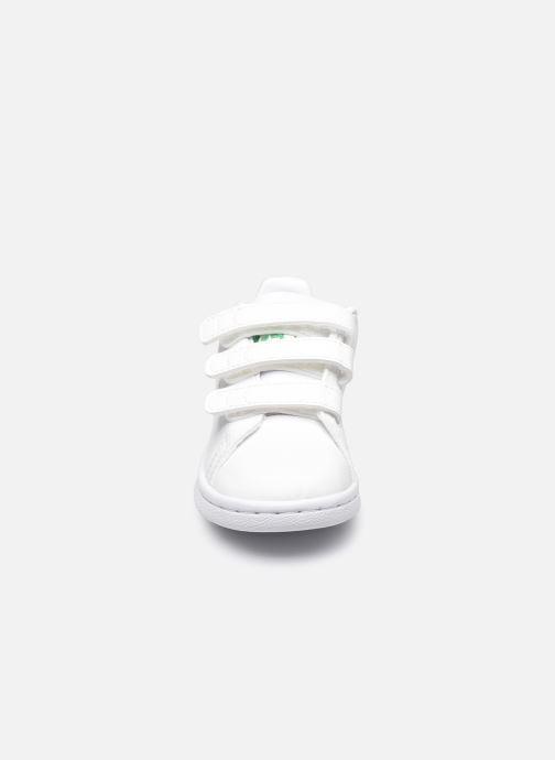 Baskets adidas originals Stan Smith Cf I eco-responsable Blanc vue portées chaussures