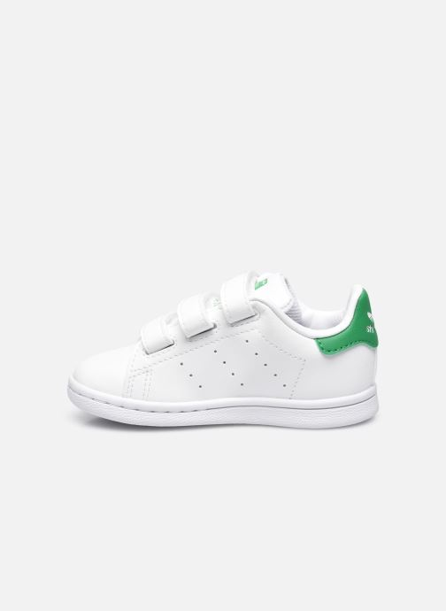 Baskets adidas originals Stan Smith Cf I eco-responsable Blanc vue face