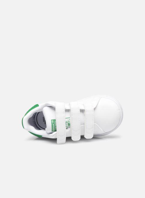 Baskets adidas originals Stan Smith Cf I eco-responsable Blanc vue gauche