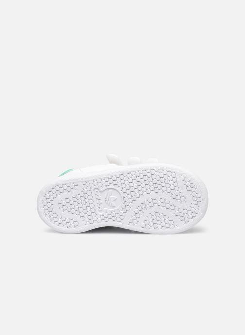 Baskets adidas originals Stan Smith Cf I eco-responsable Blanc vue haut