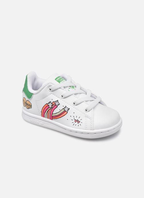 Baskets adidas originals Stan Smith El I eco-responsable Blanc vue détail/paire