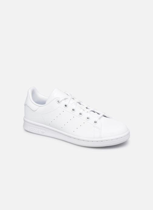 Baskets adidas originals Stan Smith J eco-responsable Blanc vue détail/paire