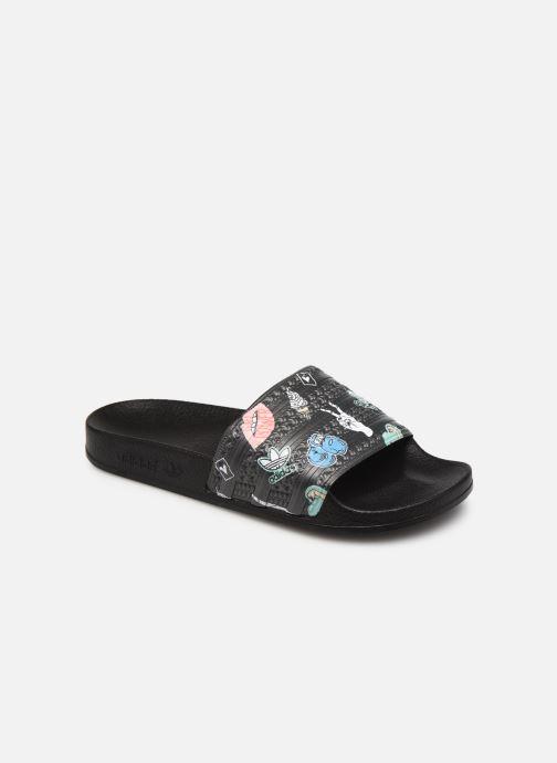 Slippers adidas originals Adilette J Zwart detail