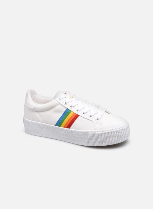 Sneakers Gola Orchid Platform Rainbow W Bianco vedi dettaglio/paio