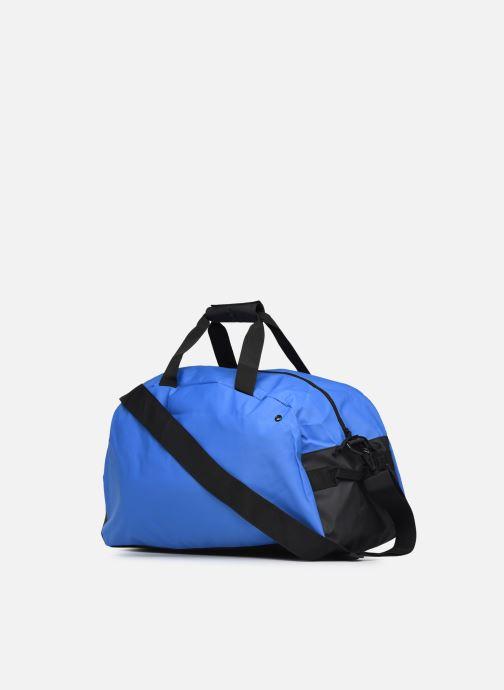 Sacs de sport Arena Team Duffle 40 Big Logo Bleu vue droite