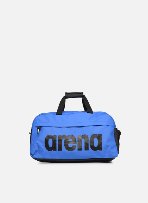 Sporttassen Arena Team Duffle 40 Big Logo Blauw detail