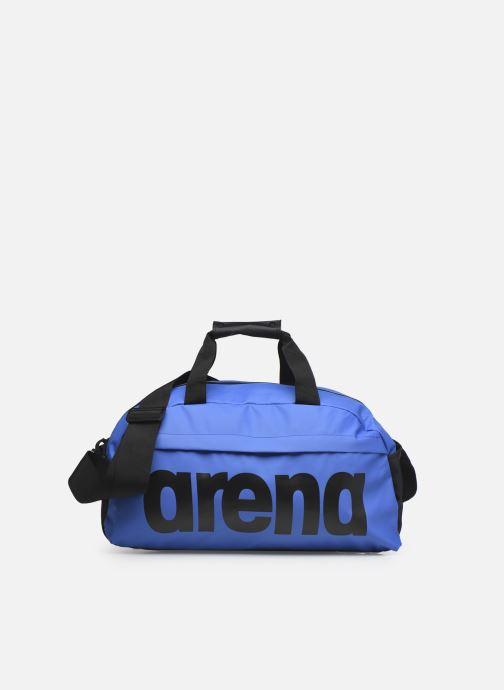 Bolsas de deporte Arena Team Duffle 25 Big Logo Azul vista de detalle / par