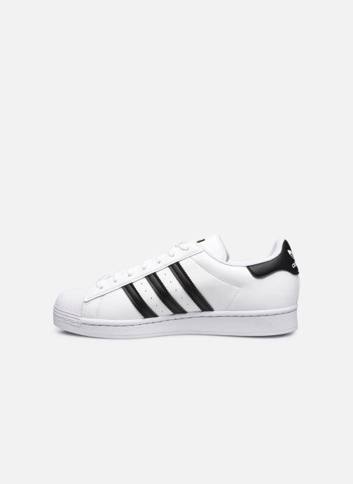 Sneaker adidas originals Superstar Vegan M weiß ansicht von vorne