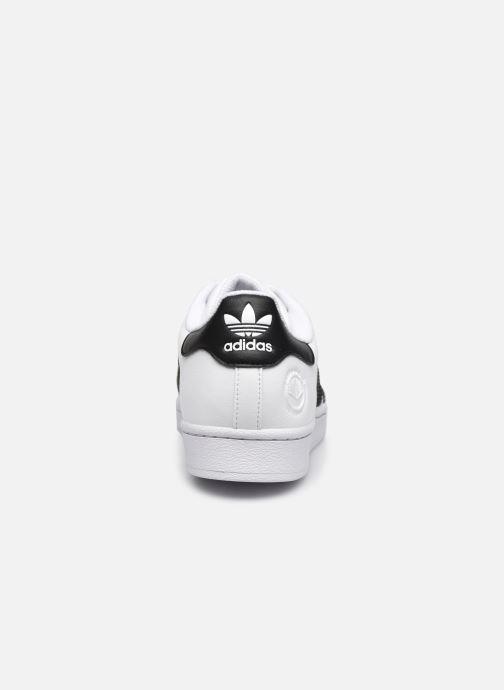 Sneaker adidas originals Superstar Vegan M weiß ansicht von rechts