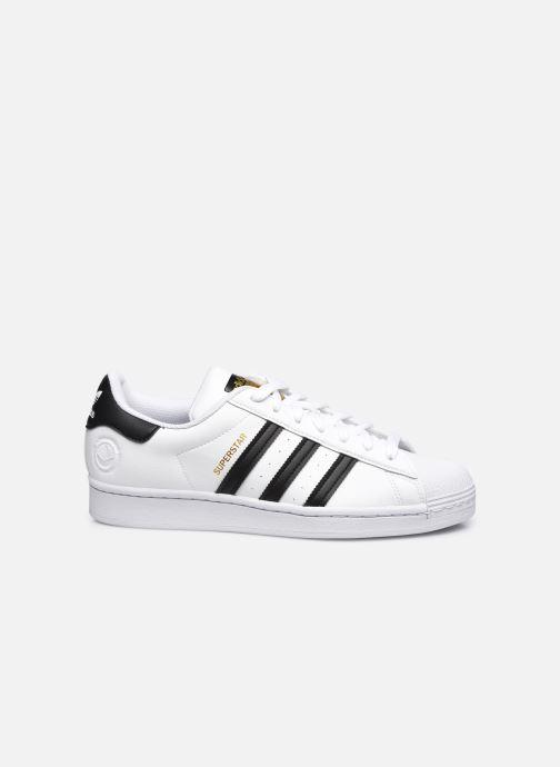 Sneaker adidas originals Superstar Vegan M weiß ansicht von hinten
