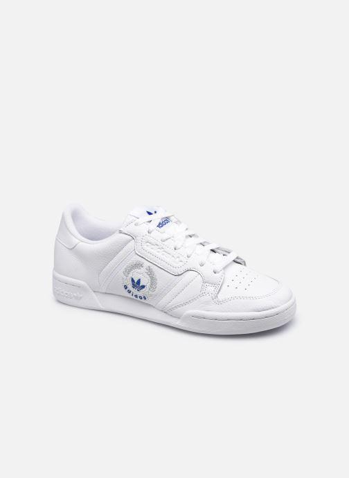 Baskets adidas originals Continental 80 M Blanc vue détail/paire