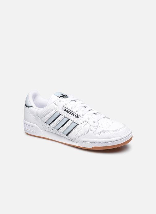 Baskets adidas originals Continental 80 Stri M Blanc vue détail/paire