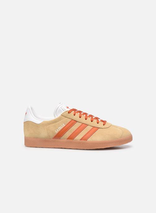 Sneaker adidas originals Gazelle M beige ansicht von hinten