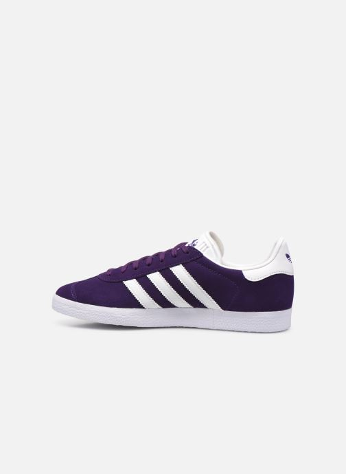 Sneakers adidas originals Gazelle M Azzurro immagine frontale