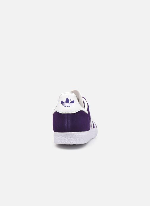 Sneakers adidas originals Gazelle M Blauw rechts