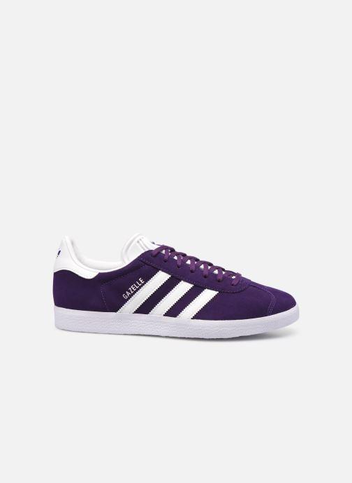 Sneakers adidas originals Gazelle M Blauw achterkant