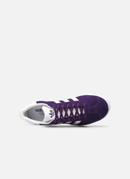 Sneakers adidas originals Gazelle M Azzurro immagine sinistra