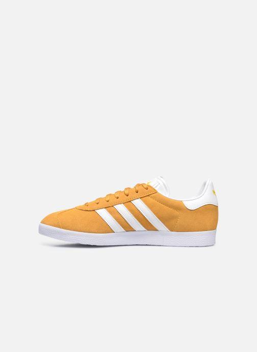 Sneakers adidas originals Gazelle M Giallo immagine frontale