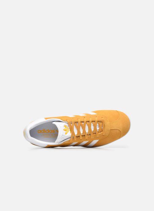 Sneakers adidas originals Gazelle M Gul se fra venstre