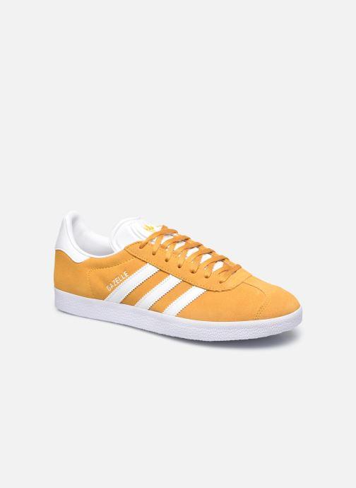 Sneakers adidas originals Gazelle M Gul detaljeret billede af skoene