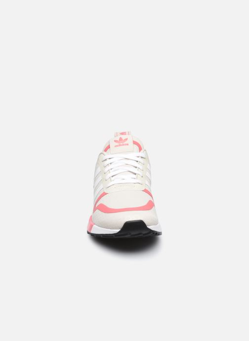 Sneaker adidas originals Smooth Runner W rosa schuhe getragen