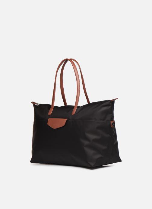 Handtassen Hexagona POP CABAS WEEK END NYLON Zwart model