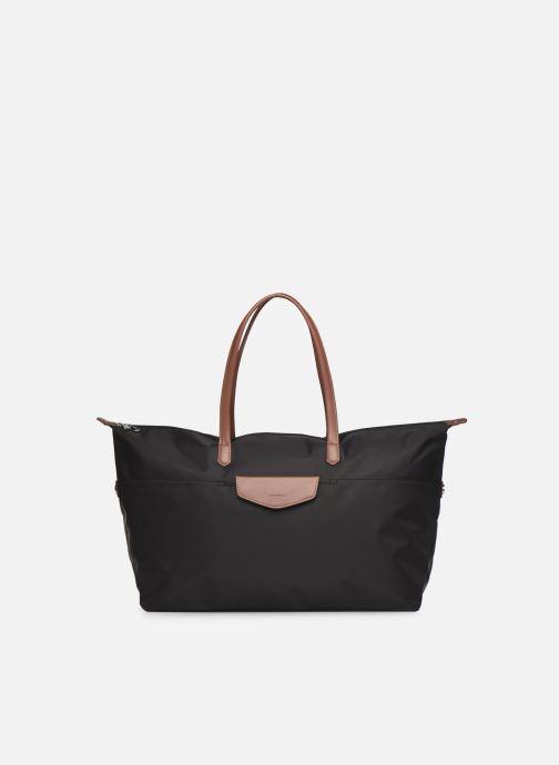 Handtaschen Hexagona POP CABAS WEEK END NYLON schwarz detaillierte ansicht/modell