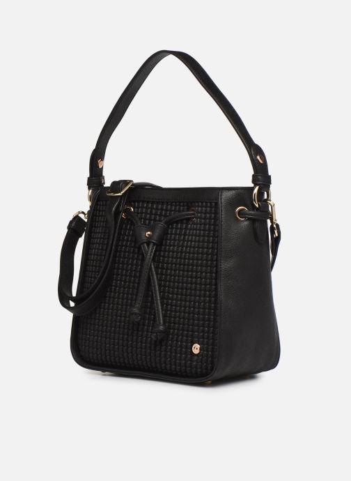 Handtaschen Hexagona ÉCLAT PORTÉ MAIN schwarz schuhe getragen