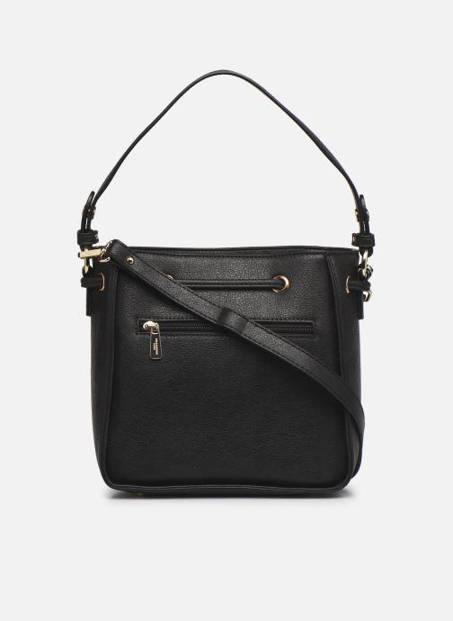 Handtaschen Hexagona ÉCLAT PORTÉ MAIN schwarz ansicht von vorne