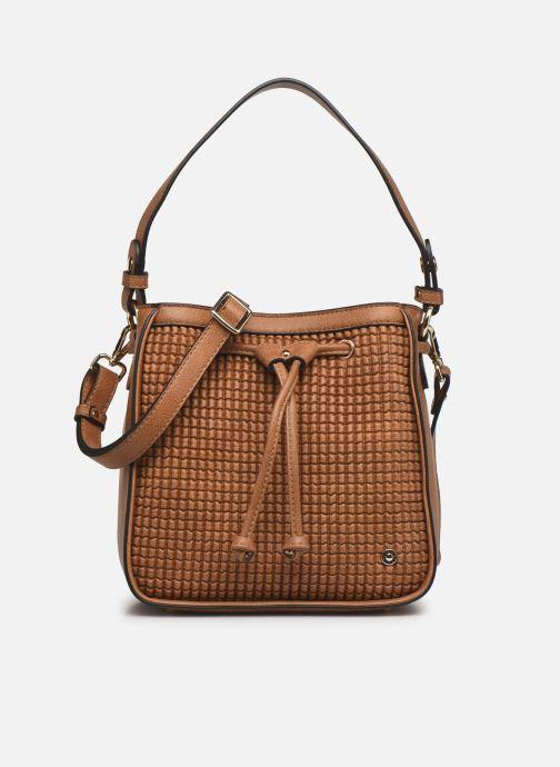 Handtaschen Hexagona ÉCLAT PORTÉ MAIN braun detaillierte ansicht/modell