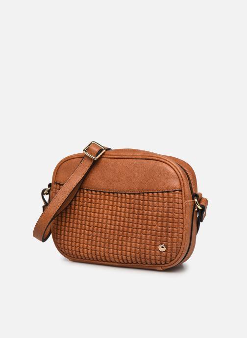 Handtaschen Hexagona ÉCLAT CROSS BODY braun schuhe getragen