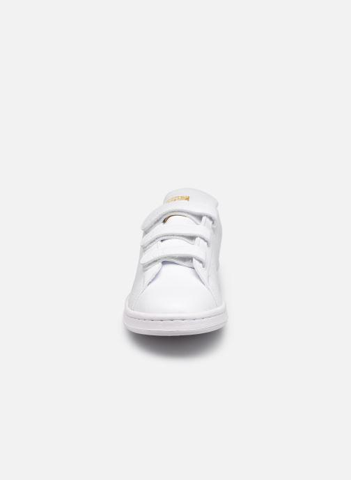Baskets adidas originals Stan Smith Cf eco-responsable W Blanc vue portées chaussures