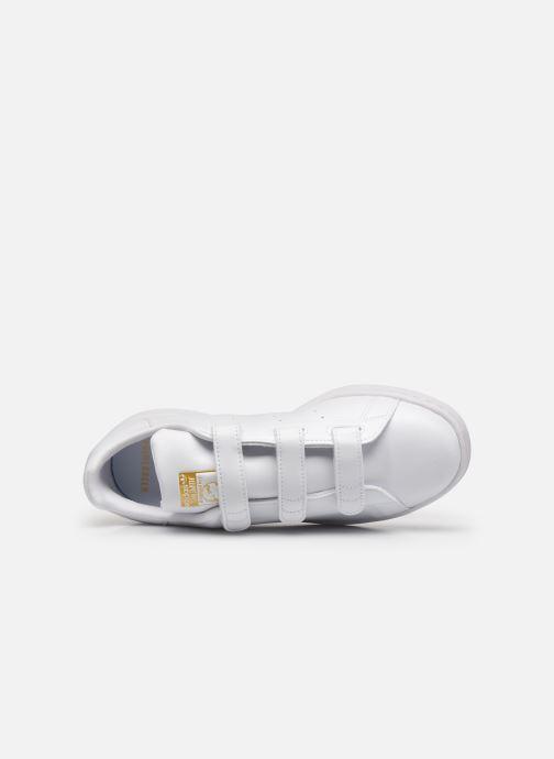 Baskets adidas originals Stan Smith Cf eco-responsable W Blanc vue gauche