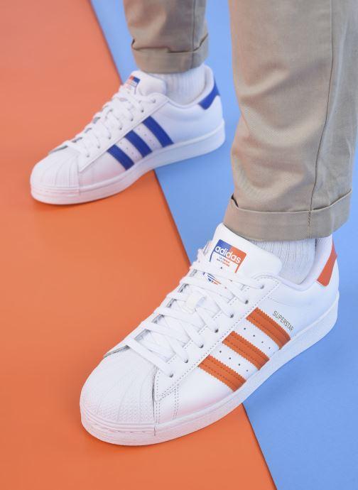 Sneakers adidas originals Superstar M Bianco immagine dal basso