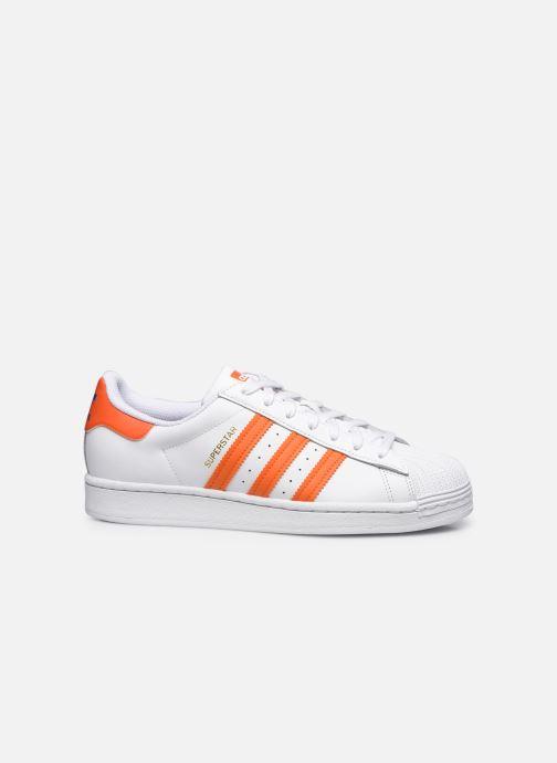 Sneakers adidas originals Superstar M Bianco immagine posteriore