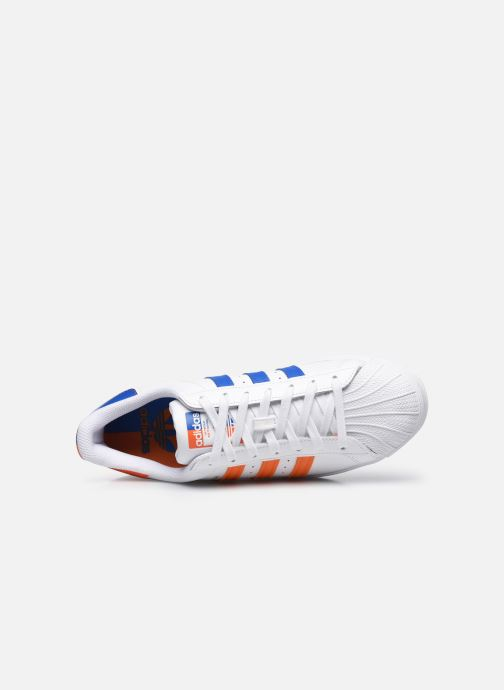 Sneakers adidas originals Superstar M Bianco immagine sinistra
