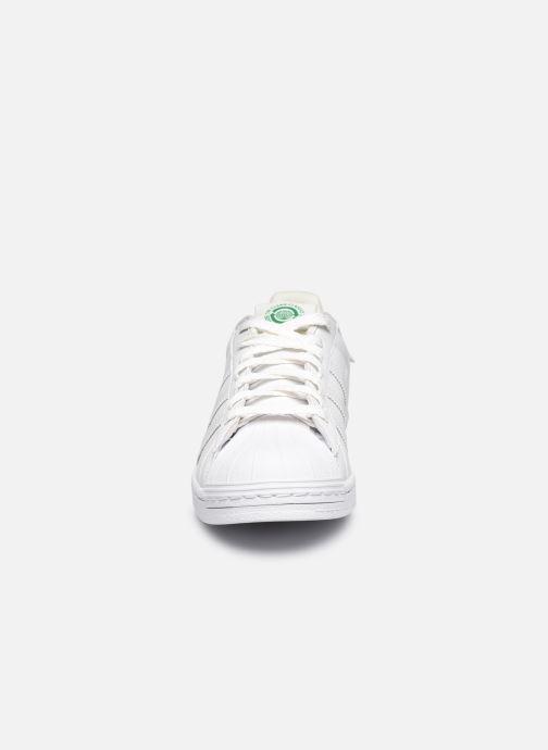 Sneaker adidas originals Superstar M weiß schuhe getragen