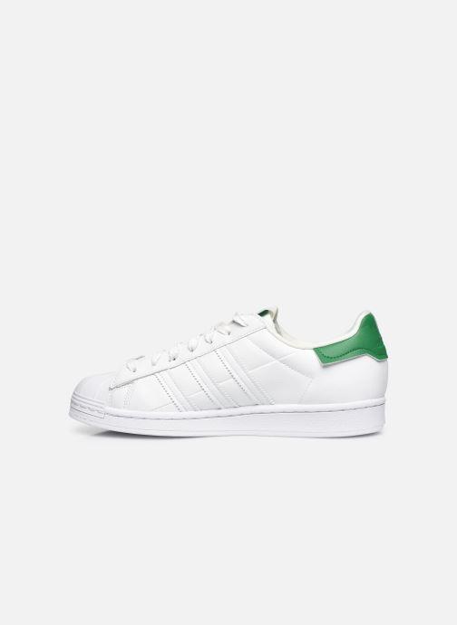 Sneaker adidas originals Superstar M weiß ansicht von vorne