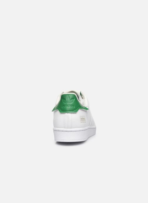 Sneaker adidas originals Superstar M weiß ansicht von rechts
